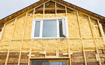 Утепление деревянного дома снаружи и изнутри